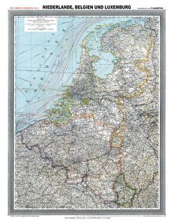 Historische Karte: NIEDERLANDE, BELGIEN und LUXEMBURG- um 1900 [gerollt] von Handtke,  Friedrich, Rockstuhl,  Harald