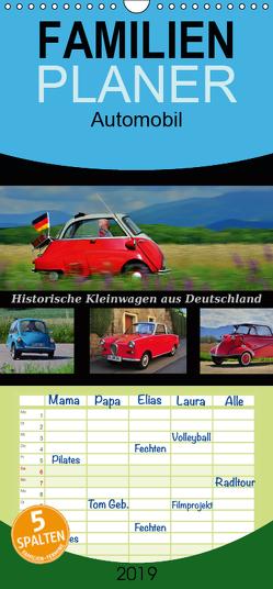 Historische Kleinwagen aus Deutschland – Familienplaner hoch (Wandkalender 2019 , 21 cm x 45 cm, hoch) von Laue,  Ingo