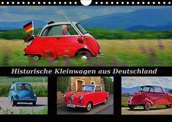 Historische Kleinwagen aus Deutschland (Wandkalender 2019 DIN A4 quer) von Laue,  Ingo