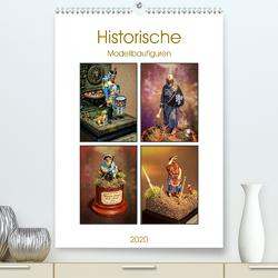 Historische Modellbaufiguren 2020 (Premium, hochwertiger DIN A2 Wandkalender 2020, Kunstdruck in Hochglanz) von Hebgen,  Peter