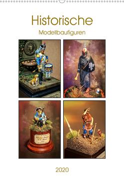 Historische Modellbaufiguren 2020 (Wandkalender 2020 DIN A2 hoch) von Hebgen,  Peter