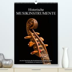 Historische Musikinstrumente (Premium, hochwertiger DIN A2 Wandkalender 2021, Kunstdruck in Hochglanz) von Bartek,  Alexander