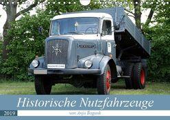 Historische Nutzfahrzeuge (Wandkalender 2019 DIN A4 quer) von Bagunk,  Anja