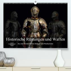 Historische Rüstungen und Waffen (Premium, hochwertiger DIN A2 Wandkalender 2021, Kunstdruck in Hochglanz) von Bartek,  Alexander