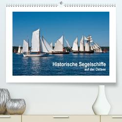 Historische Segelschiffe auf der Ostsee (Premium, hochwertiger DIN A2 Wandkalender 2021, Kunstdruck in Hochglanz) von Carina-Fotografie