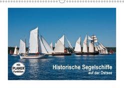Historische Segelschiffe auf der Ostsee (Wandkalender 2018 DIN A3 quer) von Carina-Fotografie,  k.A.