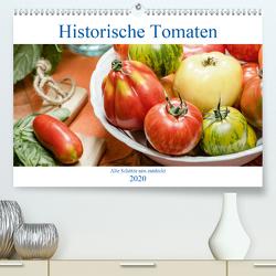 Historische Tomaten – Alte Schätze neu entdeckt (Premium, hochwertiger DIN A2 Wandkalender 2020, Kunstdruck in Hochglanz) von Meyer,  Dieter