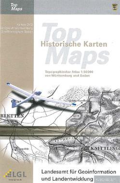 Historische Topographische Karten des Königreichs Württemberg und des Großherzogtums Baden von Landesamt für Geoinformation und Landentwicklung Baden-Württemberg (LGL)