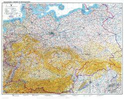 Historische Übersichtskarte: DEUTSCHLAND -Stand 8. Februar 1940 von Rockstuhl,  Harald