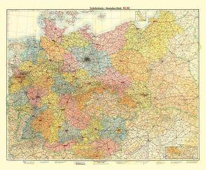 Historische Übersichtskarte: DEUTSCHES REICH – VERKEHRSKARTE – November 1942 von Rockstuhl,  Harald