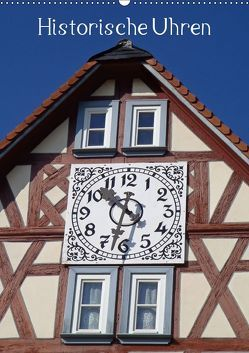 Historische Uhren (Wandkalender 2019 DIN A2 hoch) von Andersen,  Ilona