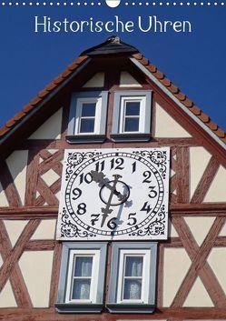 Historische Uhren (Wandkalender 2019 DIN A3 hoch) von Andersen,  Ilona