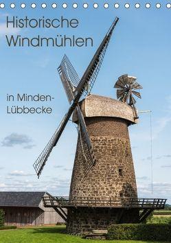 Historische Windmühlen in Minden-Lübbecke (Tischkalender 2018 DIN A5 hoch) von Boensch,  Barbara