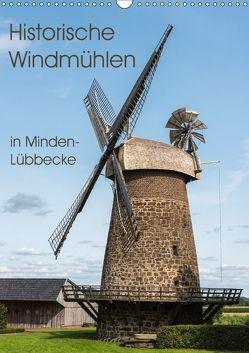 Historische Windmühlen in Minden-Lübbecke (Wandkalender 2018 DIN A3 hoch) von Boensch,  Barbara