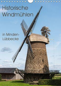 Historische Windmühlen in Minden-Lübbecke (Wandkalender 2018 DIN A4 hoch) von Boensch,  Barbara