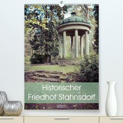 Historischer Friedhof Stahnsdorf (Premium, hochwertiger DIN A2 Wandkalender 2020, Kunstdruck in Hochglanz) von Rasche,  Marlen