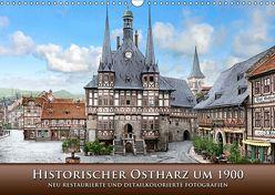 Historischer Ostharz um 1900 (Wandkalender 2019 DIN A3 quer) von Tetsch,  André