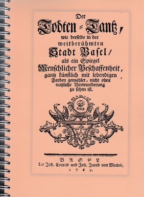 Historischer Totentanz Basel von Mächler,  Andreas