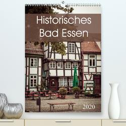 Historisches Bad Essen (Premium, hochwertiger DIN A2 Wandkalender 2020, Kunstdruck in Hochglanz) von Rasche,  Marlen