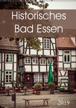 Historisches Bad Essen (Wandkalender 2019 DIN A2 hoch) von Rasche,  Marlen