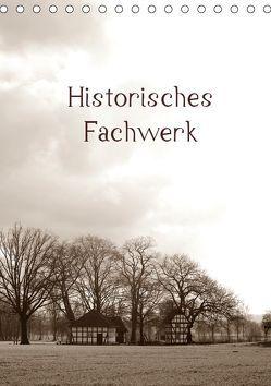 Historisches Fachwerk Terminkalender 2019 (Tischkalender 2019 DIN A5 hoch) von Riedel,  Tanja