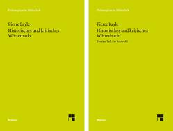 Historisches und kritisches Wörterbuch von Bayle,  Pierre, Gawlick,  Günter, Kreimendahl,  Lothar