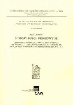 History Buech Reimenweisz von Kresten,  Otto, Theisen,  Maria