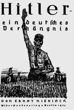 Hitler – ein deutsches Verhängnis von Niekisch,  Ernst, Weber,  A Paul