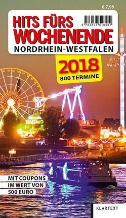 Hits fürs Wochenende Nordrhein-Westfalen 2018 von Kirfel,  Thomas