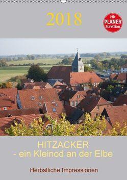 Hitzacker – ein Kleinod an der Elbe (Wandkalender 2018 DIN A2 hoch) von Arnold,  Siegfried