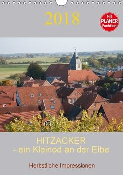 Hitzacker – ein Kleinod an der Elbe (Wandkalender 2018 DIN A4 hoch) von Arnold,  Siegfried