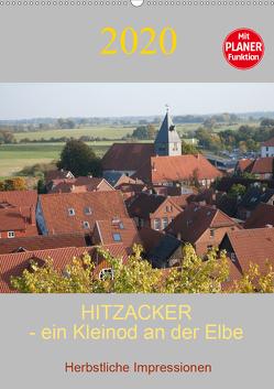 Hitzacker – ein Kleinod an der Elbe (Wandkalender 2020 DIN A2 hoch) von Arnold,  Siegfried