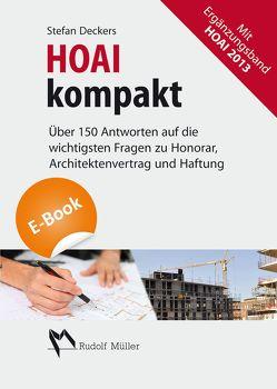 HOAI kompakt – E-Book (PDF) von Deckers,  Stefan