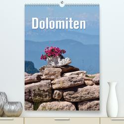 Hoch oben in den Dolomiten (Premium, hochwertiger DIN A2 Wandkalender 2020, Kunstdruck in Hochglanz) von Barig,  Joachim