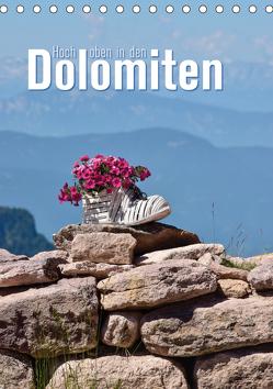 Hoch oben in den Dolomiten (Tischkalender 2019 DIN A5 hoch) von Barig,  Joachim