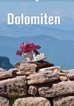 Hoch oben in den Dolomiten (Wandkalender 2019 DIN A2 hoch) von Barig,  Joachim