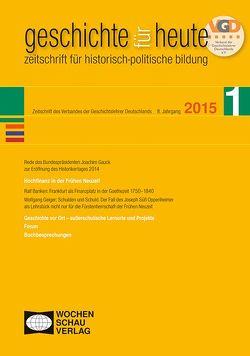 Hochfinanz in der frühen Neuzeit von Banken,  Rolf, Bundesverband der Geschichtslehrer Deutschlands, Gauck,  Joachim, Geiger,  Wolfgang