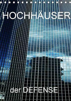 HOCHHÄUSER der DEFENSE (Tischkalender 2019 DIN A5 hoch) von Sock,  Reinhard