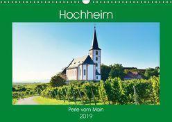 Hochheim, Perle vom Main (Wandkalender 2019 DIN A3 quer) von Kauss www.kult-fotos.de,  Kornelia