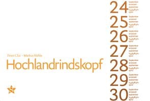 Hochlandrindskopf von Clar,  Peter, Köhle,  Markus