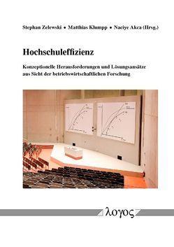 Hochschuleffizienz — konzeptionelle Herausforderungen und Lösungsansätze aus Sicht der betriebswirtschaftlichen Forschung von Akca,  Naciye, Klumpp,  Matthias, Zelewski,  Stephan
