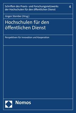 Hochschulen für den öffentlichen Dienst von Stember,  Jürgen