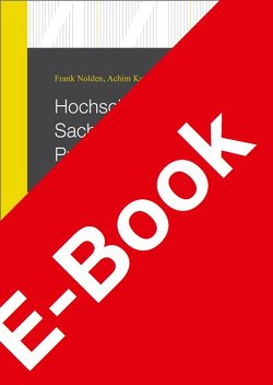 Hochschulgesetz Sachsen-Anhalt Praxiskommentar von Kurz,  Achim, Nolden,  Frank, Schmuck,  Sebastian