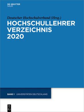 Hochschullehrer Verzeichnis / Universitäten Deutschland von Deutscher Hochschulverband