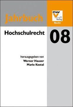 Hochschulrecht von Hauser,  Werner, Kostal,  Mario