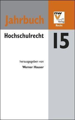 Hochschulrecht von Hauser,  Werner