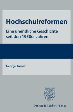 Hochschulreformen. von Turner,  George