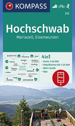 Hochschwab, Mariazell, Eisenwurzen von KOMPASS-Karten GmbH