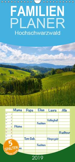Hochschwarzwald – Familienplaner hoch (Wandkalender 2019 , 21 cm x 45 cm, hoch) von Geduldig,  Bildagentur