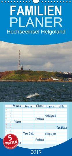 Hochseeeinsel Helgoland – Familienplaner hoch (Wandkalender 2019 , 21 cm x 45 cm, hoch) von kattobello